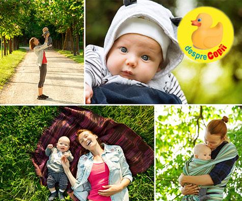 Cum pastram cele mai frumoase amintiri din viata bebelusului?