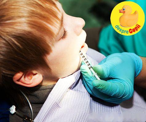 Anestezia locala la copil, solutia pentru un tratament dentar confortabil
