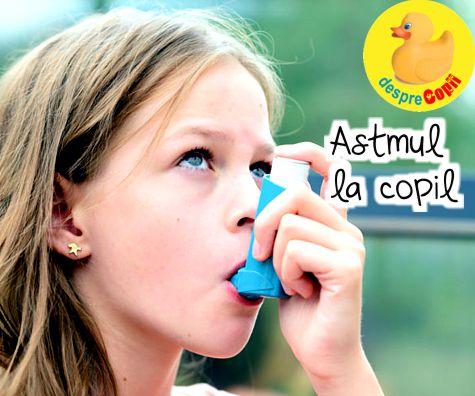 Astmul la copil: simptome, cauze si tratament