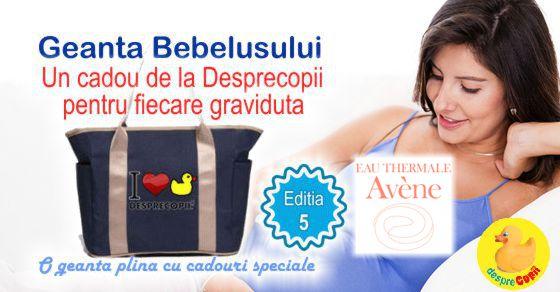 EAU THERMALE Avene - alaturi de gravidute la Geanta Bebelusului 5 width=