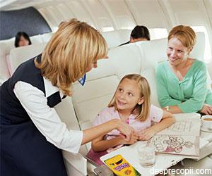 Calatoria cu avionul si urechile copilului