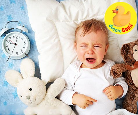10 motive pentru care bebe nu doarme noaptea