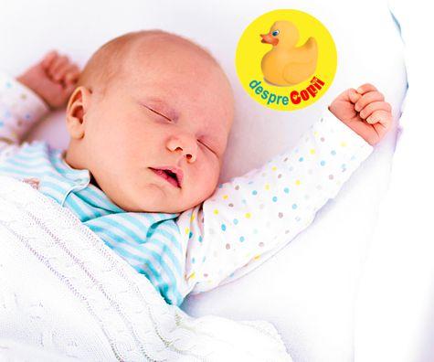 Cand doarme bebelusul toata noaptea: un raspuns pentru mamicile obosite