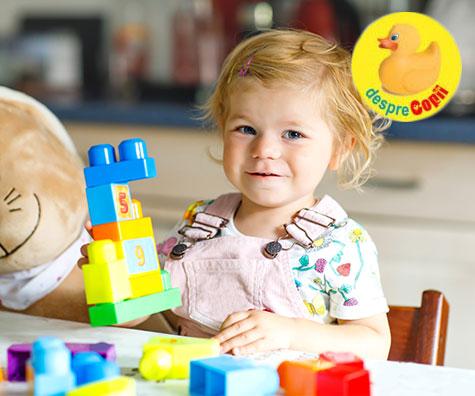 Copiii invata foarte devreme ca efortul le aduce succes