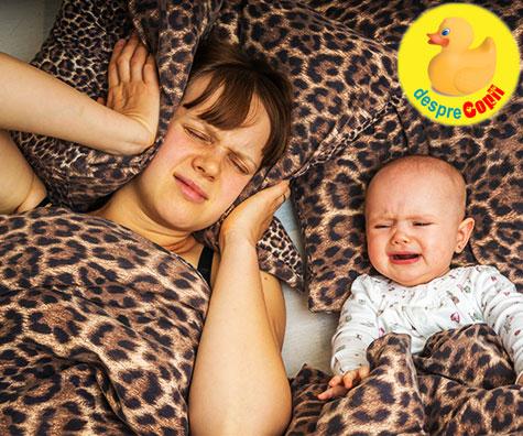 Bebelusul este obosit si ca atare trebuie sa stii cum sa procedezi: sfaturi practice