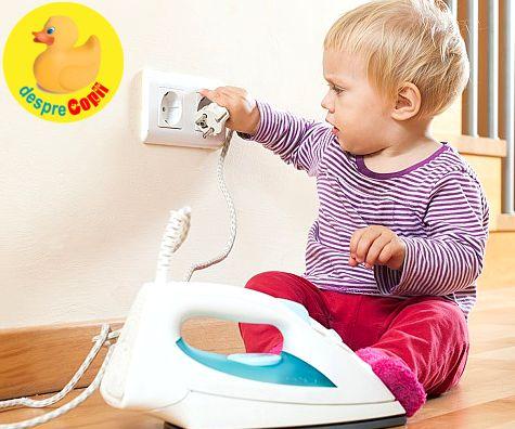 Asigura-te ca bebelusul exploreaza casa in siguranta