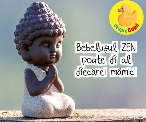 Bebelusul ZEN poate fi al fiecarei mamici