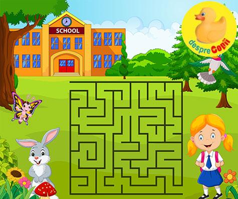 5 motive pentru care jocurile labirint sunt utile copilului