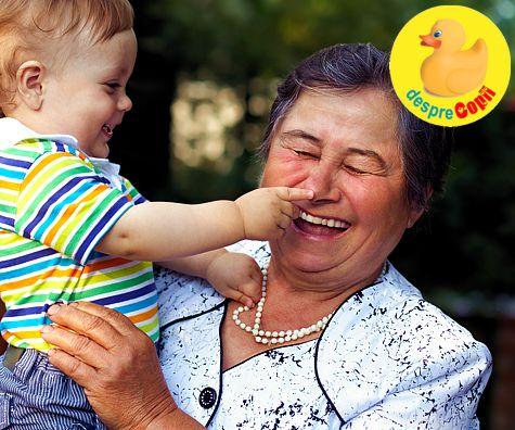 Bunicii si parentingul de azi: 5 reguli de stabilit
