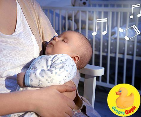 Cum influenteaza cantecelele de leagan mersul bebelusului