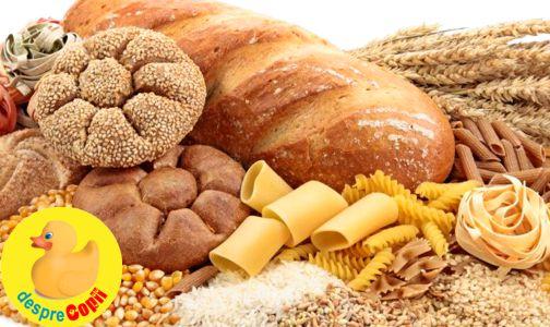 Rolul carbohidratilor in alimentatia din timpul sarcinii width=