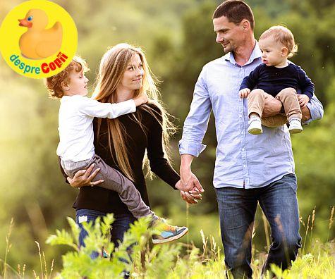 Ca sa cresti copii fericiti, pune pe primul plan casnicia ta