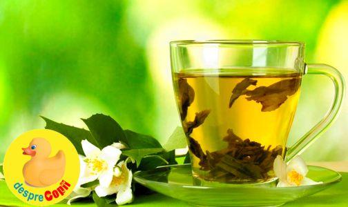 Ceaiul verde si sarcina width=
