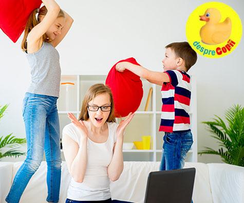 Cearta intre copii: 5 sfaturi pentru o rezolvare calma