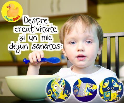 Despre creativitate si un mic dejun hranitor: descopera impreuna cu copilul tau lumea subacvatica