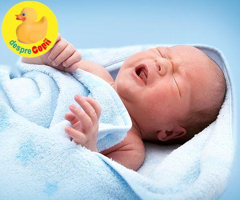 Colicile: primele dureri ale bebelusului
