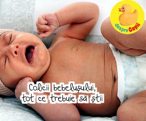 Colicii bebelusului, tot ce trebuie sa stii