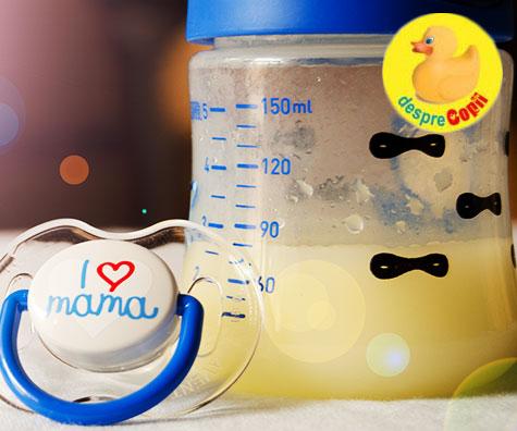 Colostru sau aurul lichid - 5 lucruri uimitoare despre prima masa a bebelusului