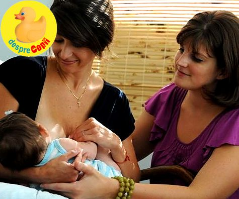 Specialistele in alaptare: consultantele cu certificat international pentru lactatie din Romania