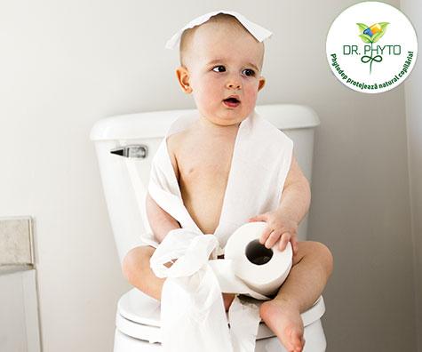 Solutii naturale impotriva constipatiei la copii