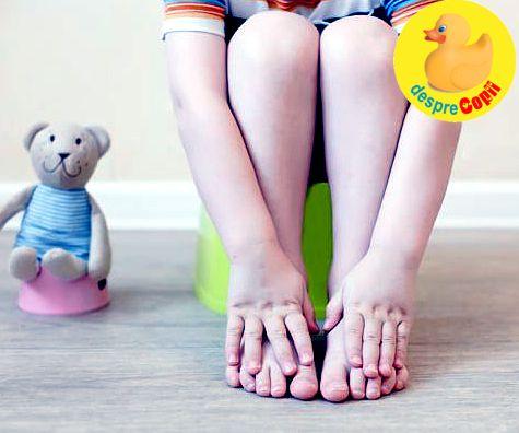 Cand constipatia copilului devine periculoasa: cum o putem trata in mod natural