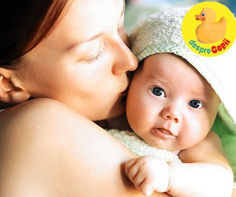 De ce are nevoie bebelusul de contact direct piele-pielea mamei