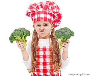Cum convingi copilul sa manance legume