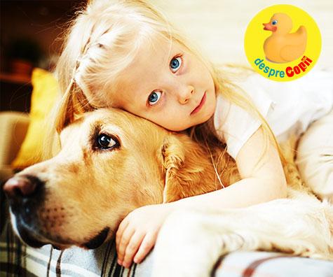 Impactul animalelor de casa asupra copiilor