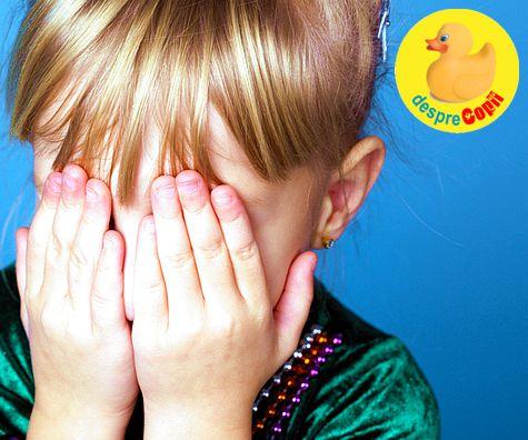 Despre copilul timid: semne si particularitati