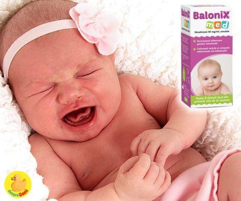 Crampele abdominale ale bebelusului sunt cauza colicilor - iata ce trebuie sa stii