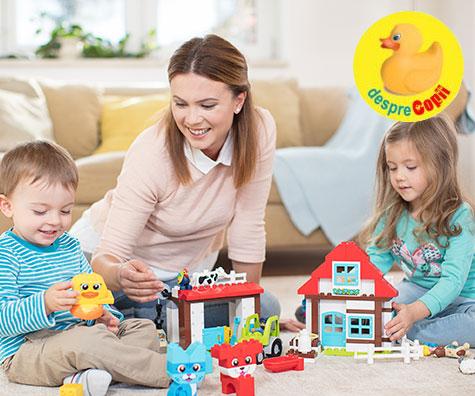 Incurajeaza creativitatea copilului si lasa-l sa-si foloseasca imaginatia!