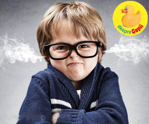 Cum asisti la o criza de furie a copilului si ce trebuie sa stii
