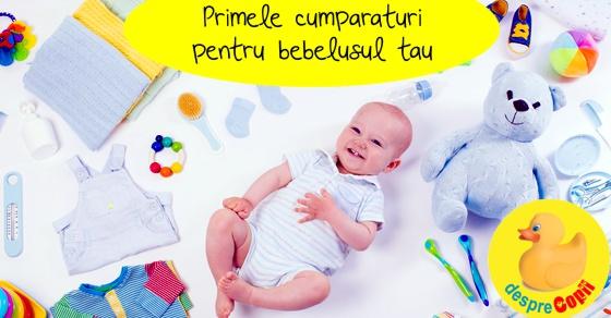 Primele cumparaturi pentru bebelusul tau width=