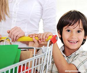 La cumparaturi cu copiii – sfaturi pentru un shopping linistit