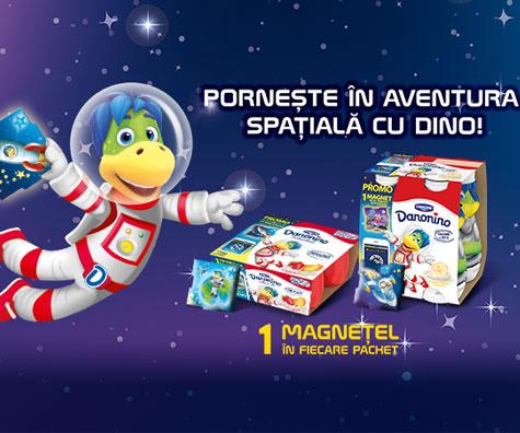 Copiii sunt invitati sa descopere Universul prin realitatea virtuala adusa de Dino