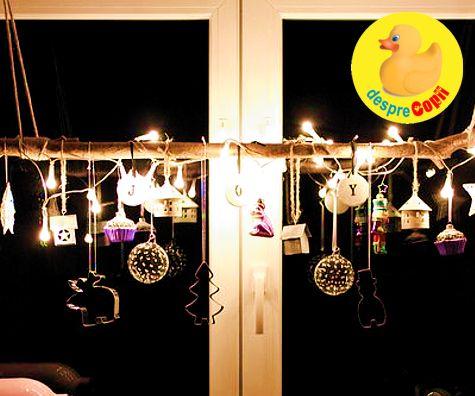 Decoratiuni de Craciun din luminite pentru interior: 7 idei