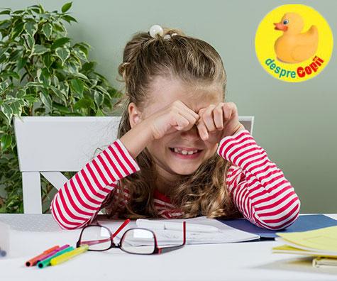 Cum ajuti un copil de clasa a I-a sa faca fata dezamagirilor?