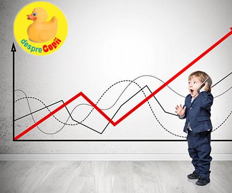 10 fapte interesante despre dezvoltarea copiilor