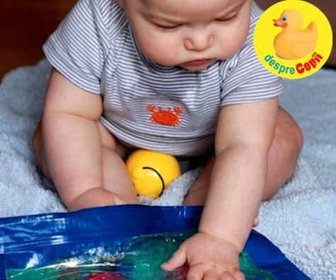 Dezvoltarea senzoriala a bebelusului