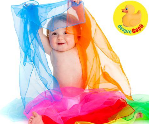 Experienta senzoriala si dezvoltarea sanatoasa a bebelusului