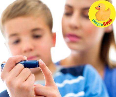 Diabetul la copil: tipuri si recomandari de tratament