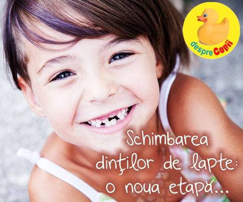 Schimbarea dintilor de lapte: sfaturi si raspunsuri de la medicul stomatolog pediatru