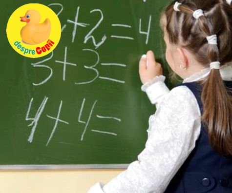 Discalculia la copil, sau cand aritmetica devine o problema