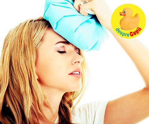 Durerile de cap in timpul sarcinii: cauze, complicatii si ce e de facut