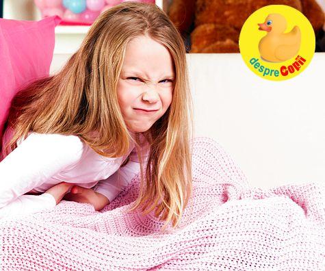 Cand copilul se plange des ca il doare burtica: lista cu observatii pe care trebuie sa le faca parintii