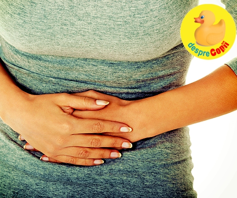 Durerile abdominale in timpul sarcinii