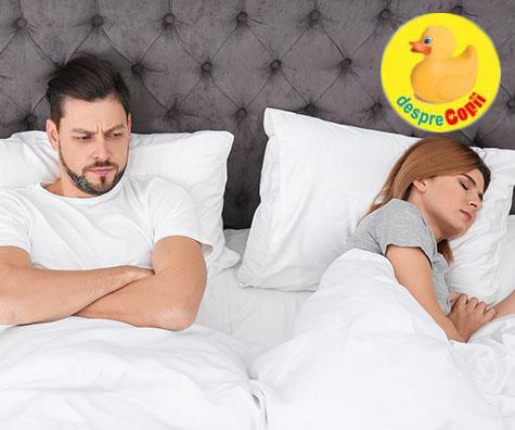Ce faci cand ea (mamica) prefera somnul in locul sexului?