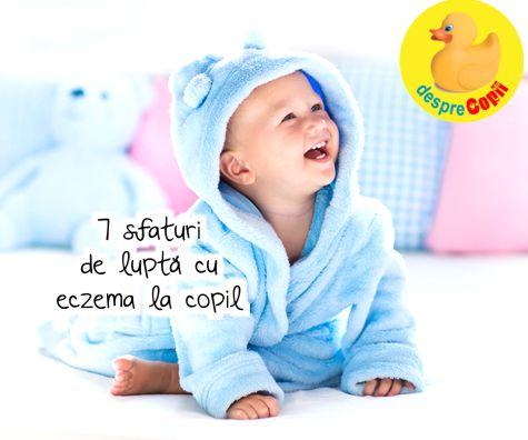 7 sfaturi eficiente in lupta cu eczema la copil