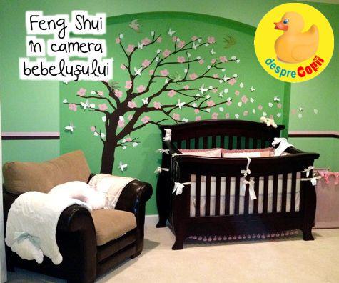 Feng Shui in camera bebelusului