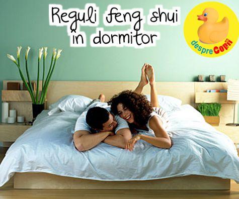 Reguli feng shui în dormitor